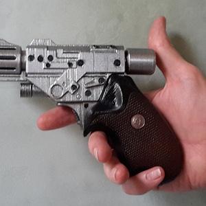 Babylon-5 PPG Pistol 3D Model