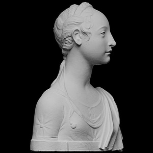 Portrait of a young girl 3D Model