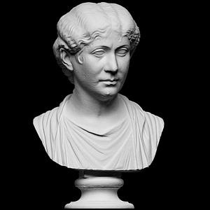Portrait of Roman lady 3D Model