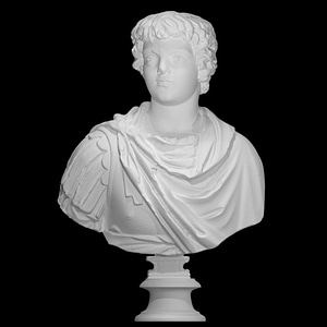 Bust of Caracalla as a child 3D Model