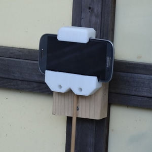 Tablet/Phone Wall Mount 3D Model