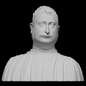 Portrait of Niccolò Strozzi 3D Model