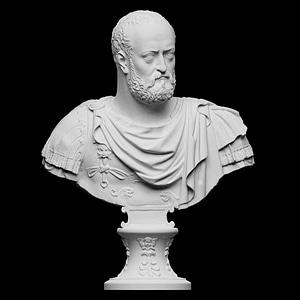 Bust of Cosimo I de' Medici 3D Model