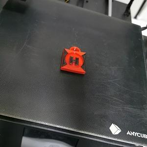 LOGO H 3D Model