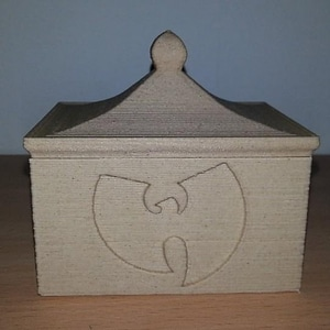 Wu-Tang Box With Lid 3D Model