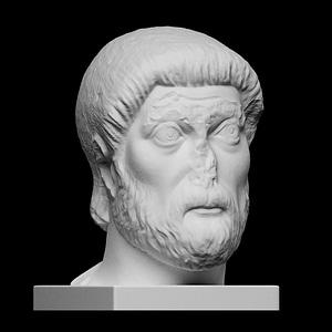 Bearded man 3D Model