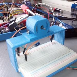 DC motor mount 3D Model