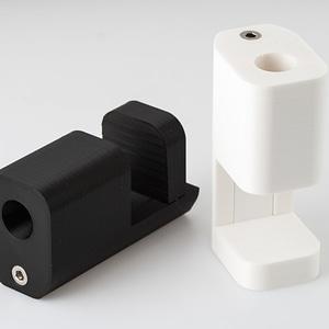 Desk Lamp Clamp Mount 3D Model