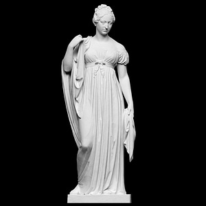 Caroline Amalie 3D Model