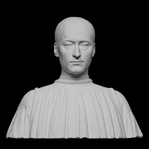 Filippo Strozzi 3D Model
