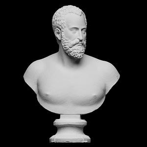 Bust of Ottavio Farnese 3D Model