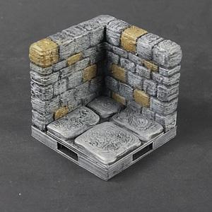OpenForge 2.0 Dungeon Stone Corner 3D Model