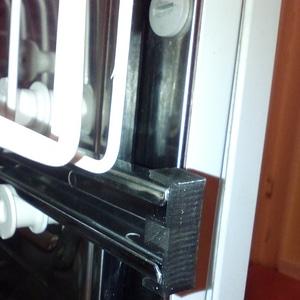 Bauknecht dishwasher clip 3D Model