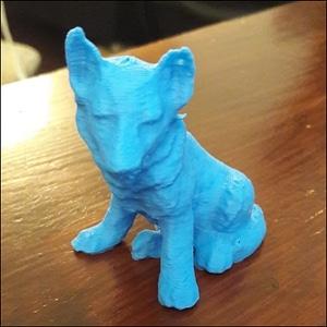 German Shepherd puppy 3D Model