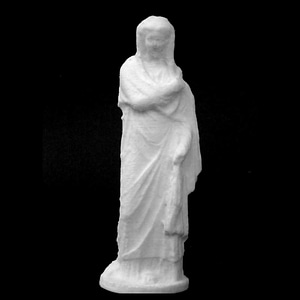 Figure of a Woman at The Dallas Museum of Art, Texas 3D Model