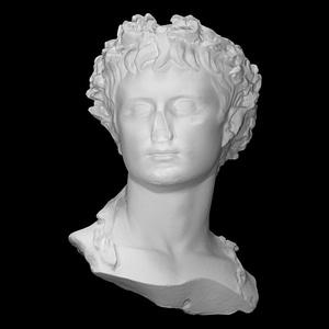 Bust of emperor Augustus 3D Model