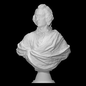 Bust of an Englishman 3D Model