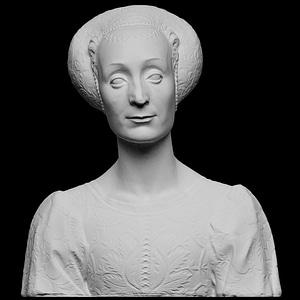 Portrait of Isotta di Rimini (?) 3D Model
