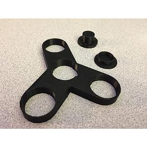 Basic Fidget Spinner 3D Model
