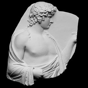 Antinous Silvanus 3D Model