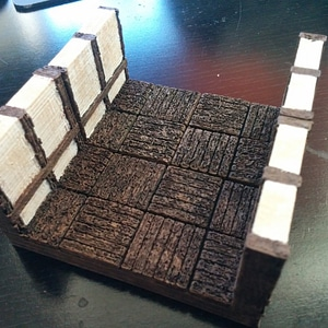 OpenForge Tudor Corridor Tile (Deprecated) 3D Model