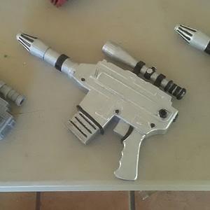 Destros Gun 3D Model