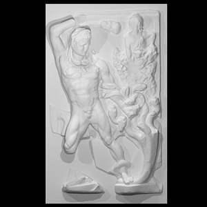 Heracles and the hydra of Lerne 3D Model