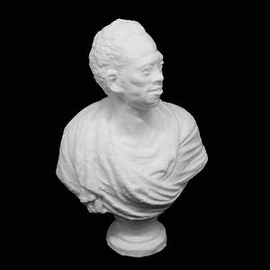 Bust of an African Man 3D Model