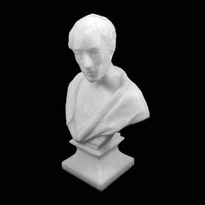 Bust of Alexander Pope 3D Model