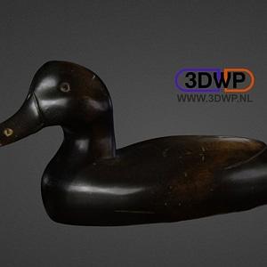 Vintage Duck Decor 3D Model
