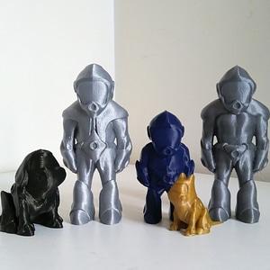 Astro family 3D Model