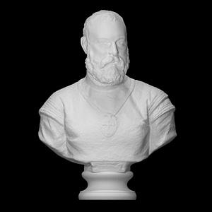 A Knight of Santiago 3D Model