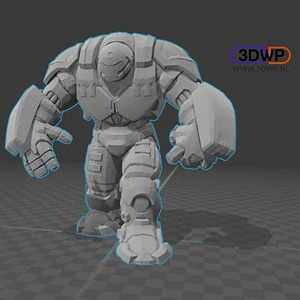 Hulkbuster 3D Model