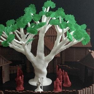 Sacred Ash Tree3Dモデル