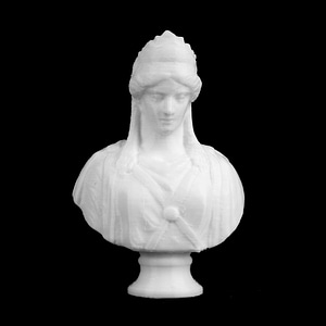 Zenobia, The Queen of Palmyra 3D Model