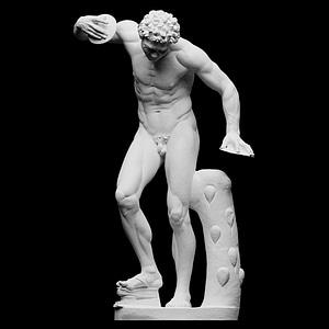 Dancing Faun 3D Model