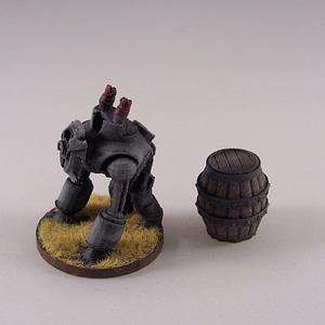 Deco Dieselbot 3D Model