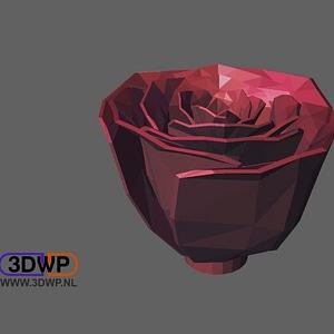 Jillian's Rose 3D Model