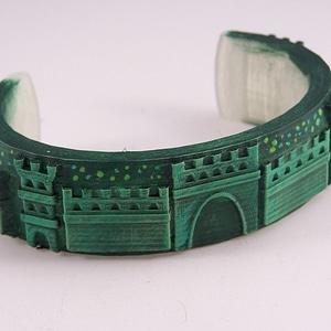 Castle Bracelet 3D Model