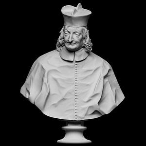 Portrait of a Cardinal 3D Model
