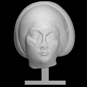 Theodosian woman 3D Model