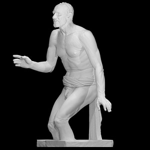 The Dying Seneca or Borghese Fisherman 3D Model