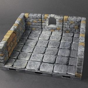 OpenForge 2.0 Dungeon Stone Windows 3D Model