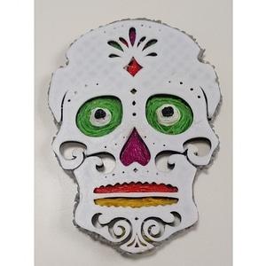 Day of the Dead Skull 3D Model
