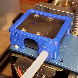 Creality CR-10 V2 KATAMCO Filament Adapter 3D Model