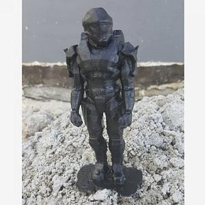 Halo 3D Model