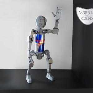 World of Cans Robot 3D Model