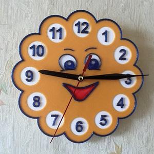 """Wall clock """"Sun"""" 3D Model"""