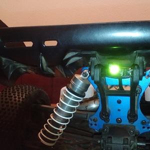 M-SAVERplus mount for LRP S8 Rebel BX 3D Model