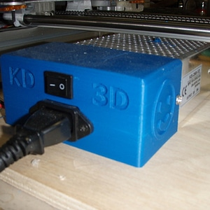 Power Supply (Bukobot) cover 3D Model